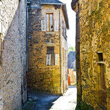 Medieval French City Stock Image