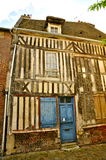 Medieval French House with Timber Framing royalty free stock photo