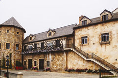 Medieval french village Royalty Free Stock Photos