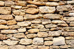 Medieval  French wall. Royalty Free Stock Photography