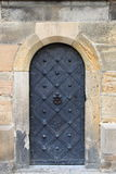 Medieval front door Stock Images