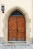 Medieval front door Royalty Free Stock Photo