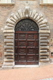 Medieval front door Stock Photography