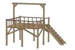 Medieval gallows Royalty Free Stock Image