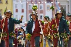 Medieval games the Landshut Wedding Stock Image