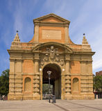 Medieval gate in Bologna Royalty Free Stock Photography