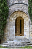 Medieval gate at Filerimos, Rhodes, Greece Royalty Free Stock Photography