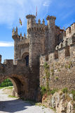 Medieval gate and moat Royalty Free Stock Photography