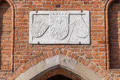 Medieval gate - Old Town, Gdansk - Poland Royalty Free Stock Photography