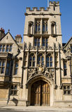 Medieval Gatehouse, Brasenose College, Oxford Stock Photos