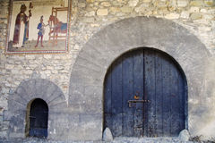 Medieval gates Stock Photography