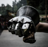 Medieval gauntlet Royalty Free Stock Images