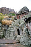 Medieval geghard monastery in Armenia Stock Photography