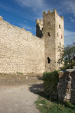 Medieval Genoese stronghold Stock Photography