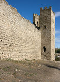Medieval Genoese stronghold Stock Image