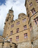 Medieval German castle Hohenzollern Royalty Free Stock Images