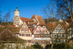 Medieval German Town Royalty Free Stock Image