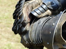 Medieval gloves Royalty Free Stock Image