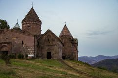 Medieval Goshavank Monastery. Dilijan area royalty free stock image