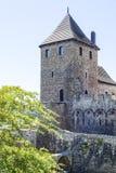 Medieval gothic castle, Bedzin Castle, Upper Silesia, Bedzin, Poland Royalty Free Stock Photos