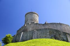 Medieval gothic castle, Bedzin Castle, Upper Silesia, Bedzin, Poland Stock Photo