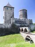 Medieval gothic castle, Bedzin Castle, Upper Silesia, Bedzin, Poland Royalty Free Stock Images