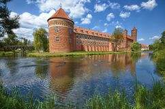 Castle in Lidzbark Warminski Royalty Free Stock Image