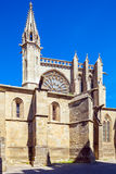 Medieval Gothic Cathedral, Carcassonne Royalty Free Stock Photos
