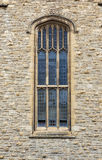 Medieval Gothic styled window Stock Photos