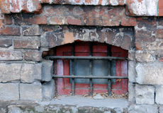Medieval Grilled Window Stock Photos