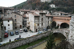 Medieval gubbio Royalty Free Stock Photo