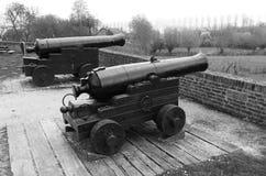 Medieval guns Royalty Free Stock Image
