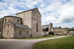 Medieval Haapsalu Episcopal Castle, Estonia Royalty Free Stock Photos