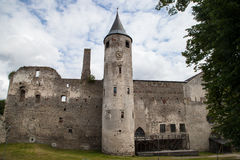 Medieval Haapsalu Episcopal Castle, Estonia Royalty Free Stock Image