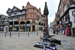 Medieval Chester in England Royalty Free Stock Image