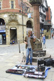 Medieval Chester in England Stock Images