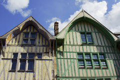 Medieval half-timbered tenement Royalty Free Stock Photos