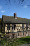 Medieval Hall, York. A medieval timber framed building in the city of York stock photos