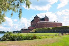 The medieval Hame Castle. Hameenlinna. Finland Stock Photography