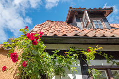 Medieval Hanse town Visby on Gotland Stock Photography