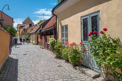 Medieval Hanse town Visby on Gotland Royalty Free Stock Photo