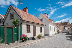 Medieval Hanse town Visby on Gotland Royalty Free Stock Photography