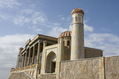 The medieval  Hazrat Hizr mosque in Samarkand, Uzbekistan Stock Images