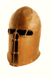 Medieval helm. Used in armor for protection Royalty Free Stock Photography
