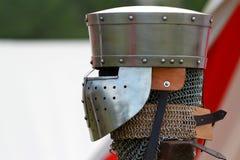 Medieval helmet Stock Photography