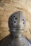 Medieval helmet and armor Royalty Free Stock Image