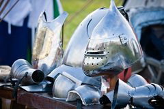 Medieval helmet royalty free stock photos