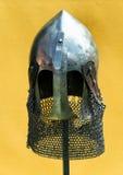 Medieval helmet royalty free stock photo