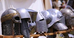 Medieval helmet. Stock Image