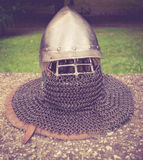 Medieval helmet Royalty Free Stock Images